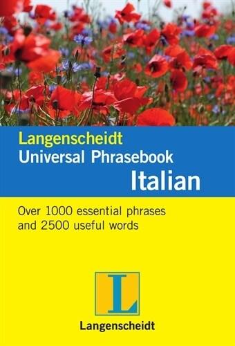 Langenscheidt Universal Phrasebook Italian