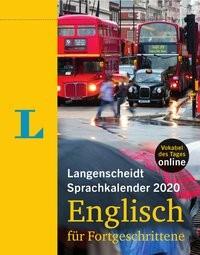 Langenscheidt Sprachkalender 2020 Englisch für Fortgeschrittene