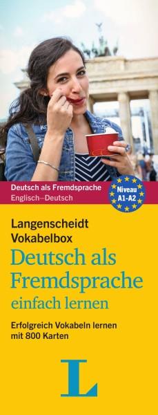 Langenscheidt Vokabelbox Deutsch als Fremdsprache einfach lernen