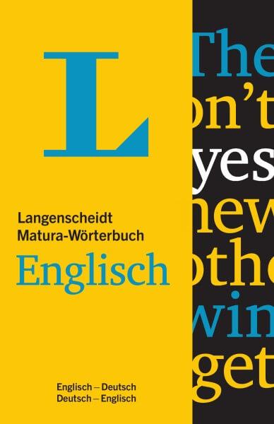 Langenscheidt Matura-Wörterbuch Englisch