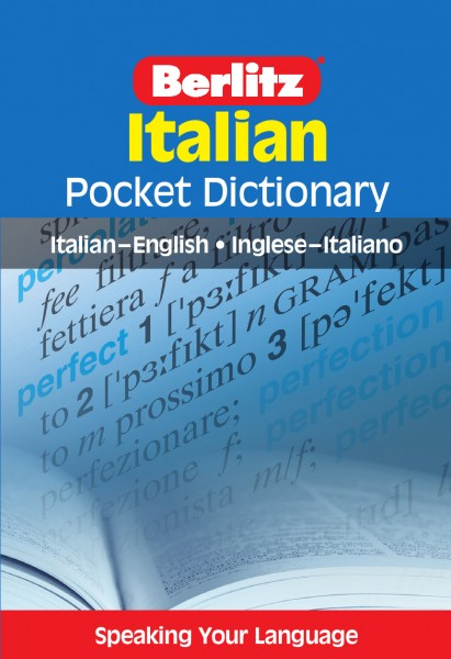 Berlitz Pocket Dictionary Italian