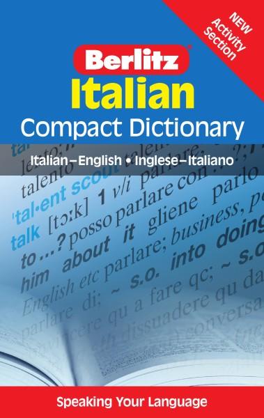 Berlitz Compact Dictionary Italian