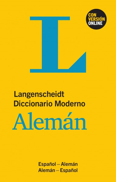 Langenscheidt Diccionario Moderno Alemán