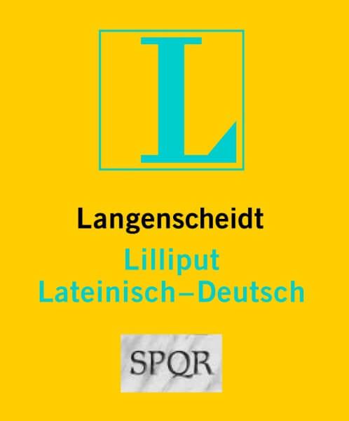Langenscheidt Lilliput Lateinisch-Deutsch