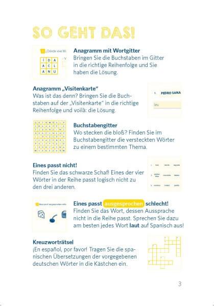 Langenscheidt Pocket-Sprachrätsel Spanisch