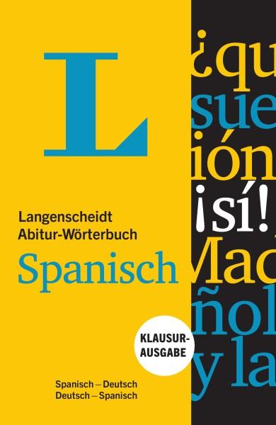 Langenscheidt Abitur-Wörterbuch Spanisch