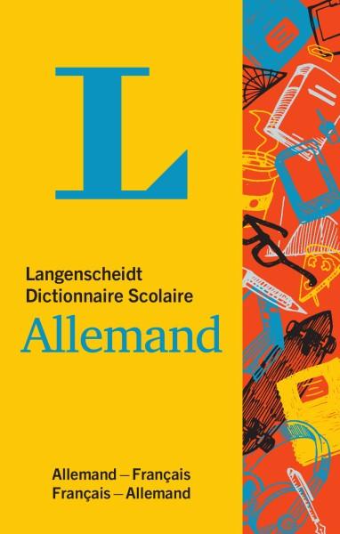 Langenscheidt Dictionnaire Scolaire Allemand