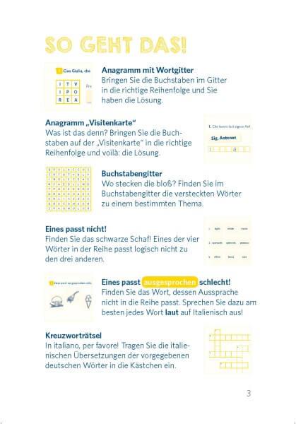Langenscheidt Pocket-Sprachrätsel Italienisch