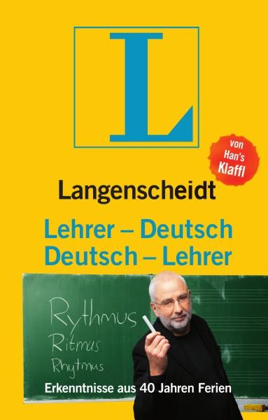 Langenscheidt Lehrer-Deutsch/Deutsch-Lehrer