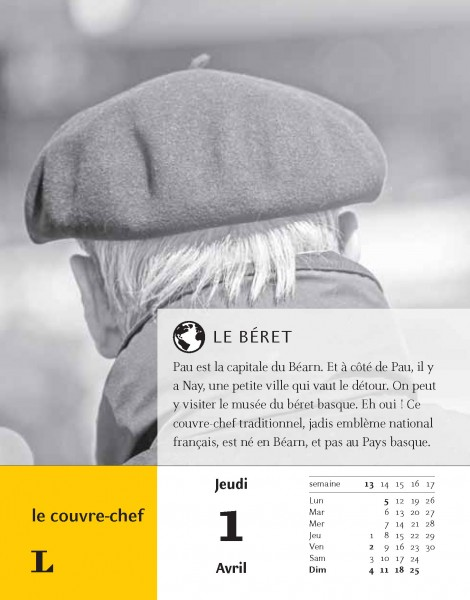 Langenscheidt Sprachkalender Französisch 2021