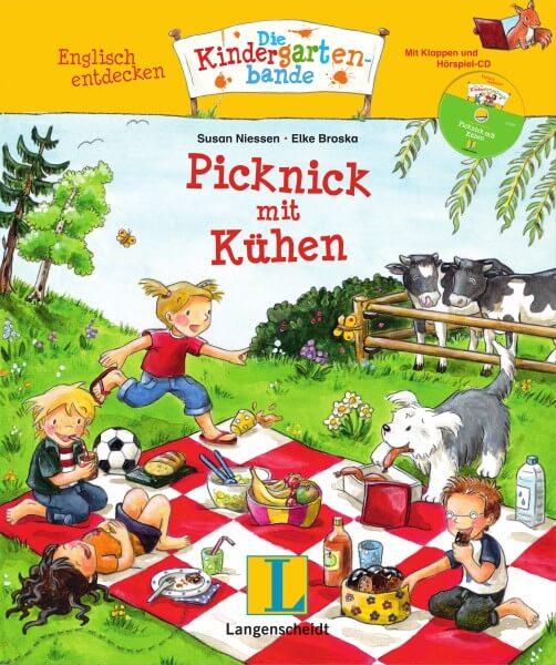 Langenscheidt Picknick mit Kühen