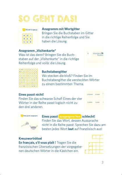 Langenscheidt Pocket-Sprachrätsel Französisch