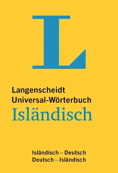 Langenscheidt Universal-Wörterbuch Isländisch