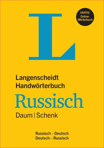 Langenscheidt Handwörterbuch Russisch Daum/Schenk