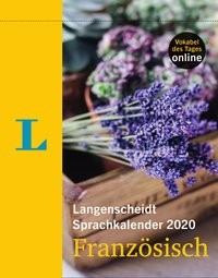 Langenscheidt Sprachkalender 2020 Französisch