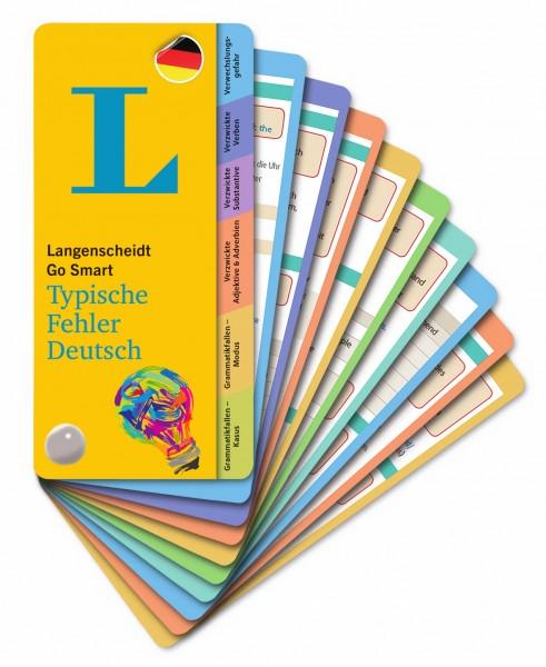 Langenscheidt Go Smart - Typische Fehler Deutsch